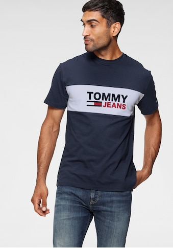TOMMY JEANS T - Shirt »TJM PIECED BAND LOGO TEE« kaufen
