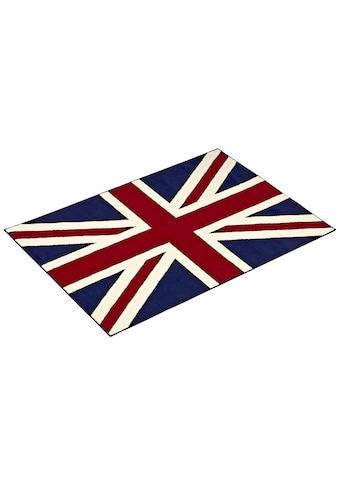 Teppich, »Union Jack«, HANSE Home, rechteckig, Höhe 9 mm, maschinell gewebt kaufen
