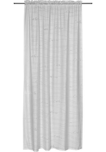freundin Home Collection Gardine »FD Cest la Vie 00«, Tunnelzug, 255x140 cm kaufen