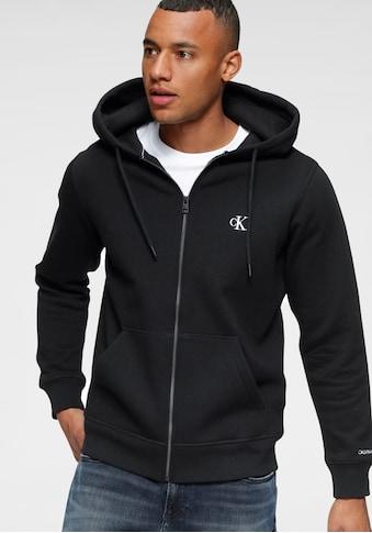 Calvin Klein Jeans Kapuzensweatjacke »CK ESSENTIAL REG ZIP THROUGH« kaufen