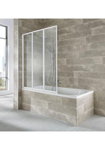 WELLTIME Badewannenaufsatz »Nassau«, 3 - tlg., weiss kaufen