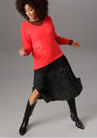 Aniston SELECTED Strickpullover, in aktuellen Knallfarben kaufen
