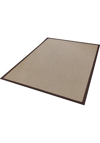 Dekowe Sisalteppich »Brasil«, rechteckig, 6 mm Höhe, Flachgewebe, Obermaterial: 100% Sisal, mit Bordüre, Wohnzimmer kaufen