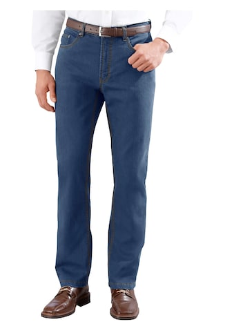 Thermo - Jeans mit wärmeisolierendem Karofutter kaufen