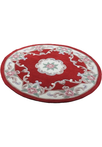 THEKO Teppich »Ming«, rund, 14 mm Höhe, hochwertiges Acrylgarn, Wohnzimmer kaufen