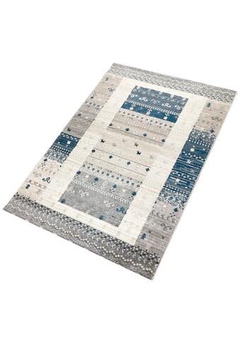 Living Line Teppich »Vicky«, rechteckig, 12 mm Höhe, modernes Design, Wohnzimmer kaufen