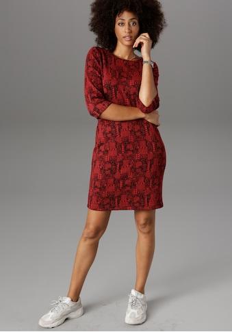 Aniston SELECTED Jerseykleid, im modischen Muster kaufen