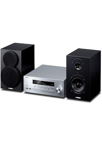 Yamaha Microanlage »MusicCast MCR-N470 DAB Silber Schwarz«, (Bluetooth-WLAN... kaufen