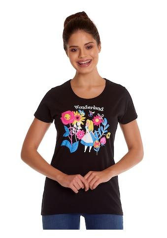 Disney T-Shirt »Alice im Wunderland Butterflies & Flowers« kaufen