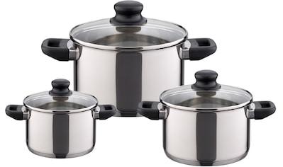 Elo - Meine Küche Topf-Set »Juwel de Luxe«, Edelstahl, (Set, 6 tlg.), Induktion kaufen