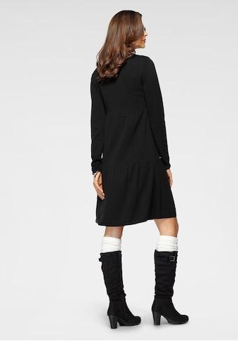Boysen's Strickkleid, mit modischen Volants - NEUE KOLLEKTION kaufen