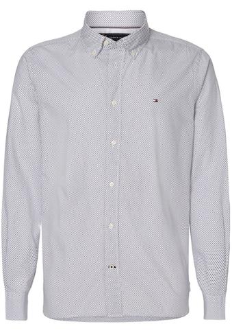 TOMMY HILFIGER Langarmhemd »MICRO BANDANA PRINT SHIRT« kaufen