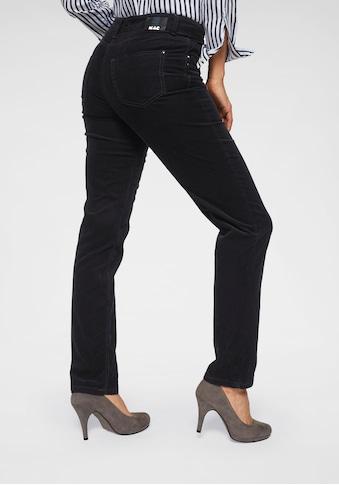 MAC Gerade Jeans »New Angela Corduroy«, Die Angela in angesagter Cord-Qualität kaufen