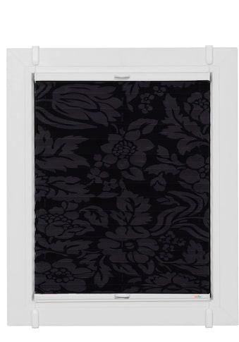 Plissee nach Mass, »Classic Style Fleur noir«, sunlines, Lichtschutz, ohne Bohren, verspannt kaufen