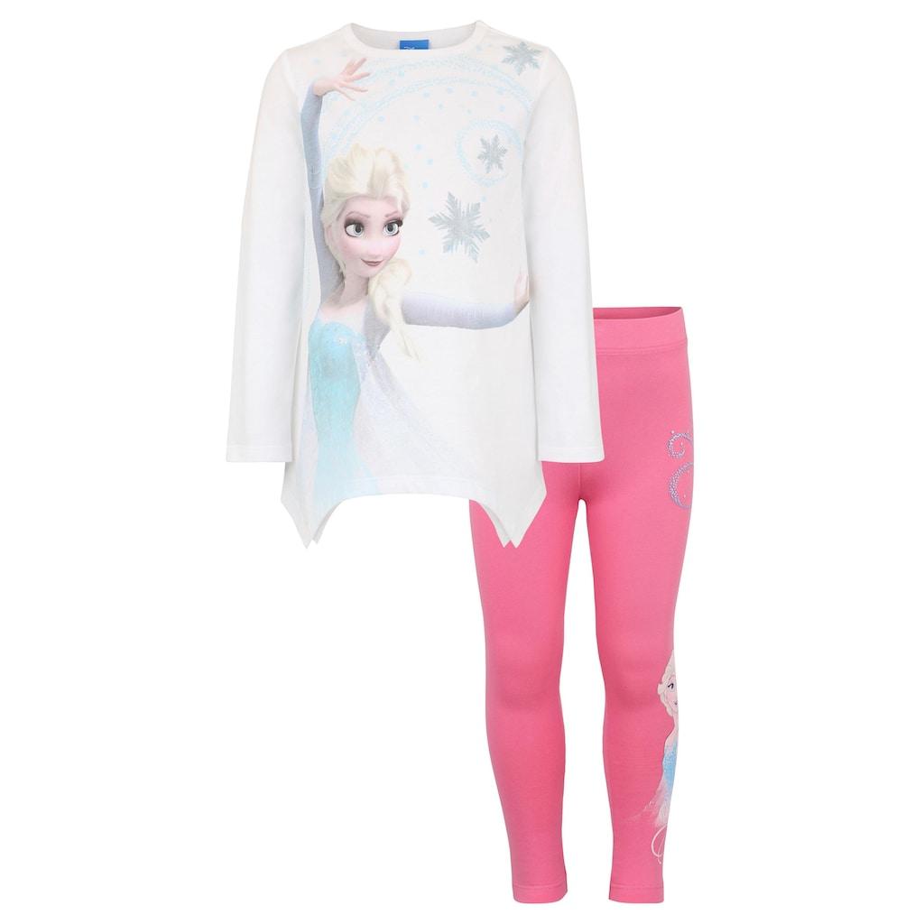Disney Frozen Shirt & Leggings »Elsa« (Set, 2 tlg.)