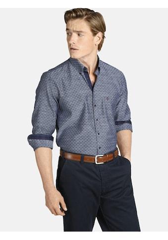Charles Colby Langarmhemd »DUKE BRIAN«, mit gewebtem Karomuster kaufen