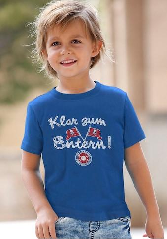 TOM TAILOR Polo Team T-Shirt »Klar zum Entern!« kaufen