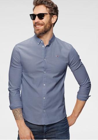 Tommy Jeans Langarmhemd »TJM SLIM STRETCH OXFORD SHIRT« kaufen