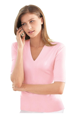 Casual Looks Kurzarm - Shirt mit V - Ausschnitt kaufen