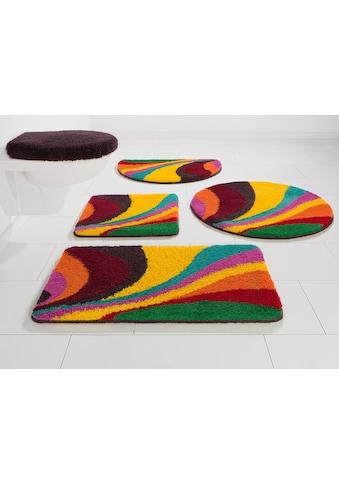 Bruno Banani Badematte »Welle«, Höhe 20 mm, rutschhemmend beschichtet,... kaufen