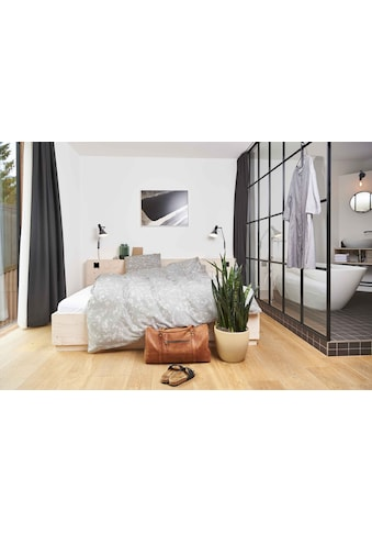 Journey Living Bettbezug »Rosenborg, Satin«, (1 St.), verdeckter Reissverschluss kaufen