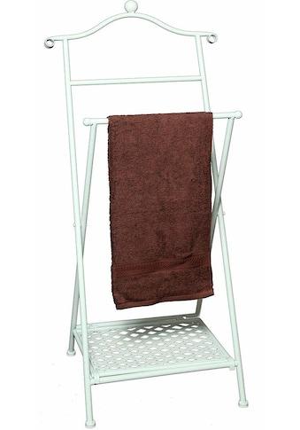 Ambiente Haus Handtuchhalter »Antik«, antikweiss kaufen
