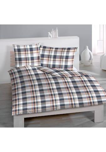 Satin - Bettwäsche Digitaldruck Gregory Check kaufen