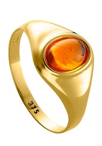 Lady Ring mit ovalem Bernstein kaufen