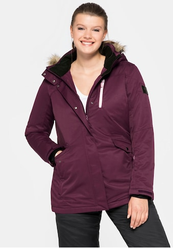 Sheego Skijacke, mit warmer Wattierung kaufen