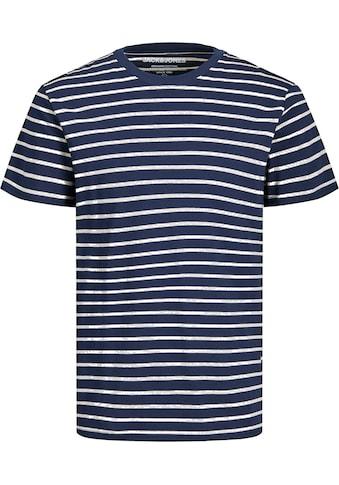 Jack & Jones T - Shirt »STRIPED TEE« kaufen