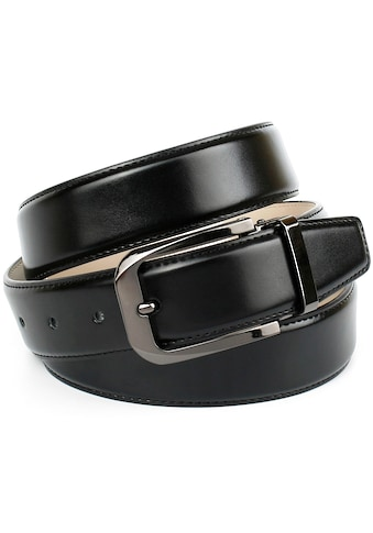 Anthoni Crown Ledergürtel, für Business-Outfit kaufen