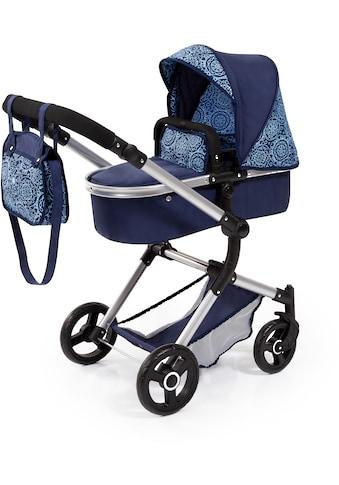 Bayer Kombi-Puppenwagen »Vario, Blau«, inkl. Wickeltasche kaufen