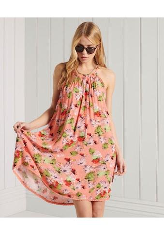 Superdry Minikleid »BEACH CAMI DRESS«, mit smmerlichen Muster und seitlichen Taschen kaufen