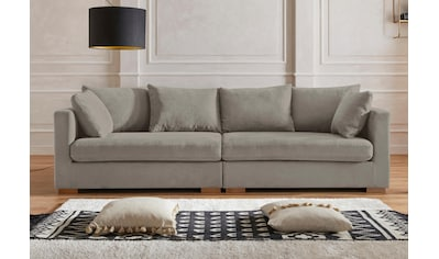 Guido Maria Kretschmer Home&Living Big-Sofa »Arles«, Bezug im Baumwoll-/Leinenmix, mit... kaufen