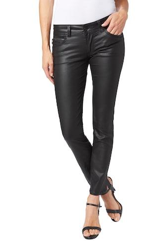 Pepe Jeans Röhrenjeans »NEW BROOKE«, beschichtet für einen rockigen Look kaufen