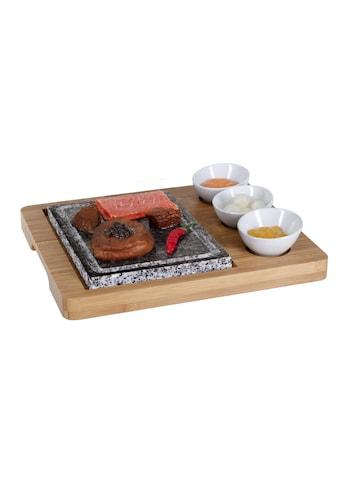 Raclette »Platte Bambus 5teilig«, - W kaufen