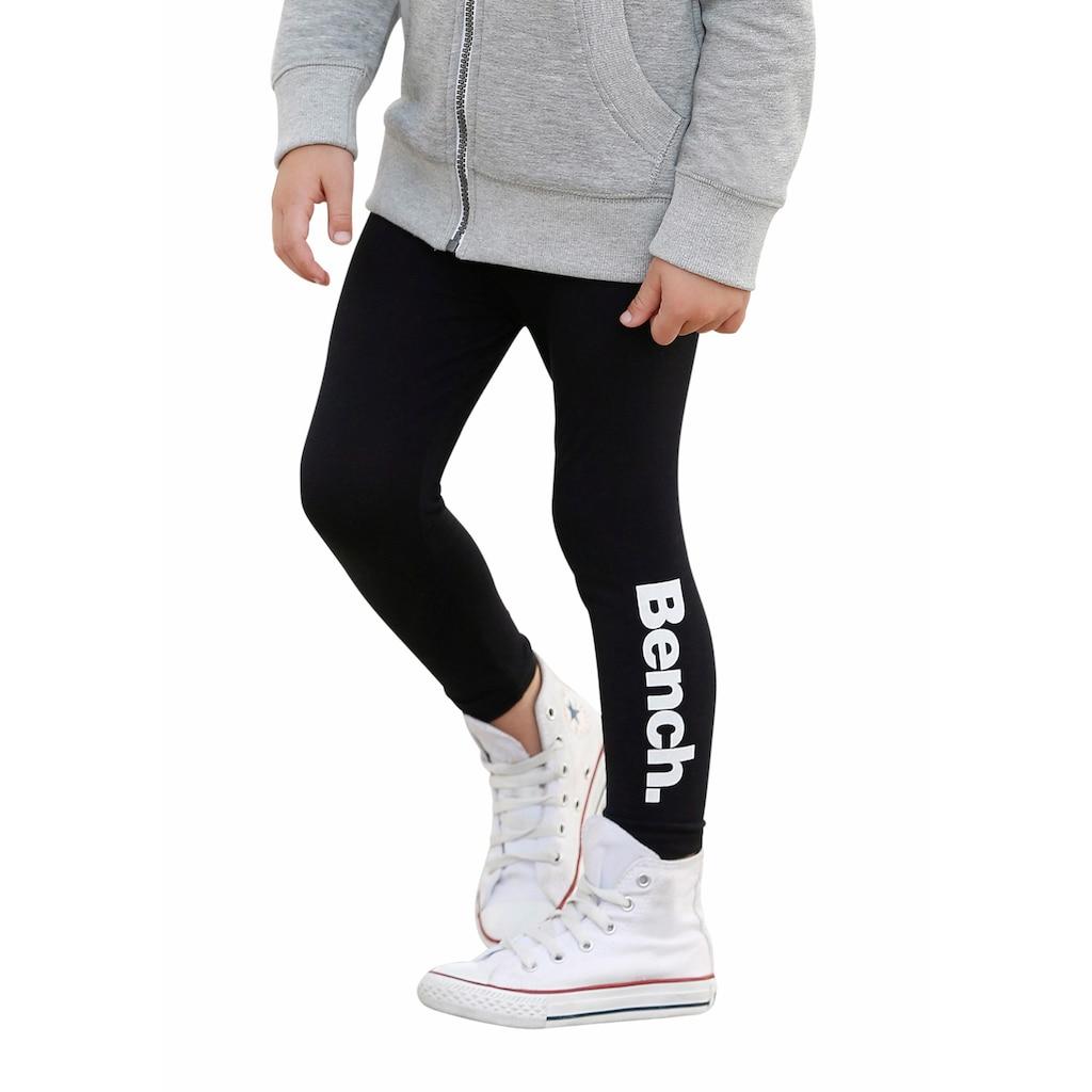 Bench. Leggings, mit Logodruck