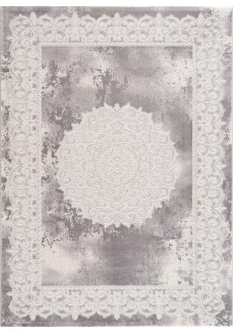 Sanat Teppich »Harmony 3205«, rechteckig, 12 mm Höhe, Vintage Design, Orient-Optik, Wohnzimmer kaufen