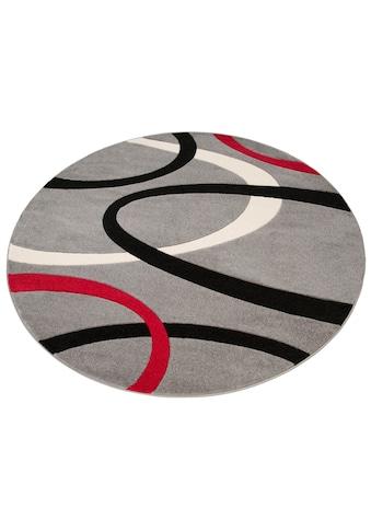 Teppich, »Bill«, my home, rund, Höhe 10 mm, maschinell gewebt kaufen