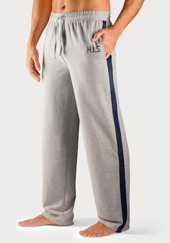 H.I.S Sweathose, mit Streifenband an den Beinaussenseiten kaufen