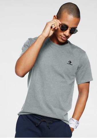 Converse T-Shirt »MENS EMBROIDERED STAR CHEVRON LEFT CHEST TEE« kaufen
