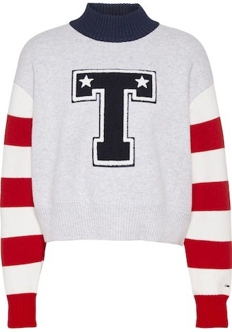 TOMMY JEANS Strickpullover »TJW VARSITY SWEATER« kaufen