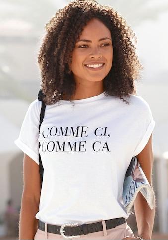 Buffalo T-Shirt, mit Print kaufen