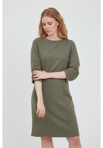 fransa Sweatkleid »FRBECARDI 2 Dress 20609585«, Modisches Kleid mit Struktur-Optik kaufen