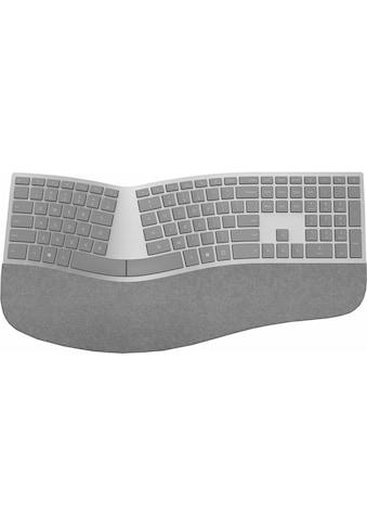 Microsoft ergonomische Tastatur »Surface«, (Handgelenkauflage-ergonomische Form), Alcantara® kaufen
