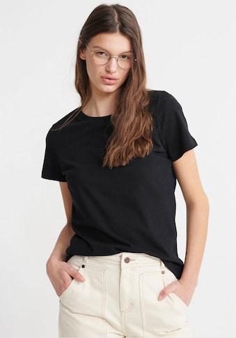 Superdry T-Shirt »Organic Cotton Orange Label Elite«, Doppelpack mit dezenter... kaufen