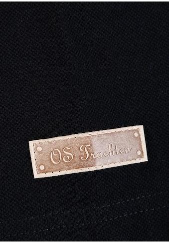Trachtenpolo, Brusttasche mit Stickerei, OS - Trachten kaufen