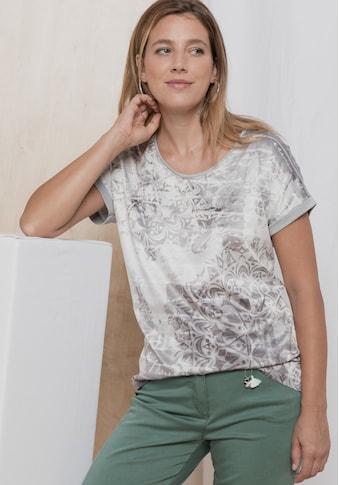 bianca Print-Shirt »JULIE«, mit coolem Design in edler Optik kaufen