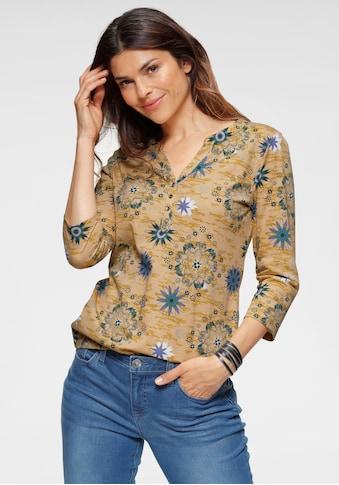 Boysen's Langarmshirt, mit kleinen Glitzer - Steinchen vorne kaufen