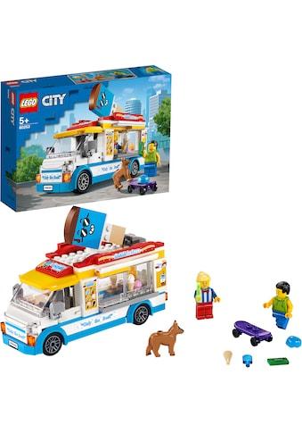 """LEGO® Konstruktionsspielsteine """"Eiswagen (60253), LEGO® City Great Vehicles"""", Kunststoff, (200 - tlg.) kaufen"""